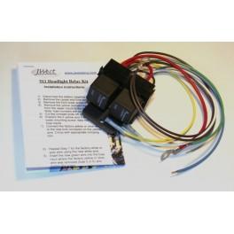 911 Headlight Relay Kit (74-89)