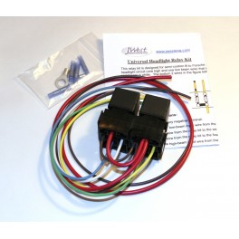 Early 911 Headlight Relay Kit (65-73)